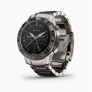 Đồng hồ thông minh Garmin MARQ, Aviator, Thiết bị đeo thông minh GPS, SEA Hàng Chính Hãng