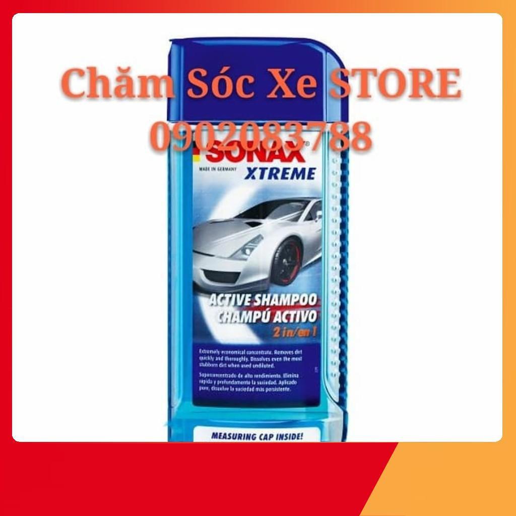Nước Rửa  Xe Đậm Đặc Sonax Xtreme- Xà Phòng Rửa Xe Sonax Xtreme Active Shampoo 2:1 -Sonax 214200