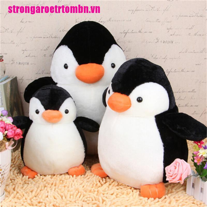 【Omvn】Lovely Penguin Stuffed Animal Plush Soft Toys Gift Cute Doll Pillow Cush