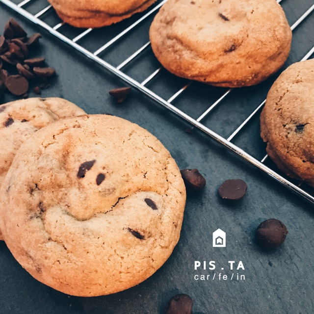 Homemade Chewy soft cookie Chocolate chips flavor 5ps