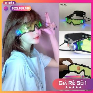 [SALE] Kính phát sáng thông minh quay Tiktok cực ngầu, Phụ kiện Tiktok, mắt kính gắn led đi đêm tiện lợi giá rẻ