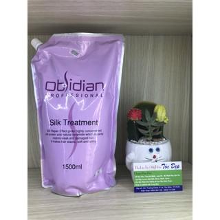 Hấp dầu siêu mượt Obsidian Silk Treatment ( hàng chính hãng ) + tặng kèm mũ chùm