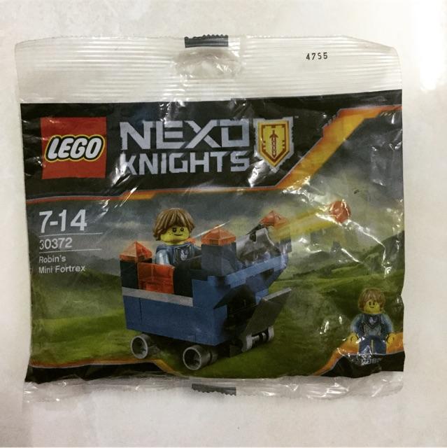 Lego Nexo Knights 30372 - Robin's Mini Fortrex polybag - Bộ xếp hình Lego Pháo đài mini của Robin