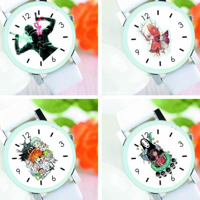 Đồng hồ đeo tay nam nữ in hình ÔNG CHỒNG NỘI TRỢ KAGEKURUI GENSHIN IMPACT anime chibi
