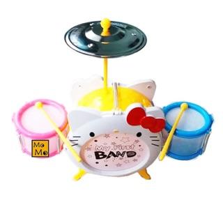 🍭🍭 Set Trống Mini Hello Kitty có đèn 🍭🍭