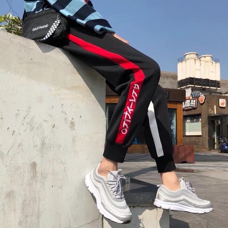 [Freeship 99K] Quần Jogger Sọc Trong Ngoài Phong Cách Thể Thao
