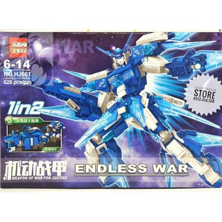 Lego Gundam Lắp Ráp Robot Dreadnought Warrior – HJ661 ( 626 Mảnh )