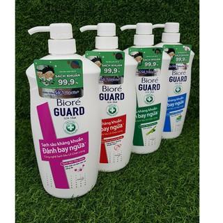 Sữa tắm sạch sâu và diệt khuẩn Biore Guard 800g thumbnail