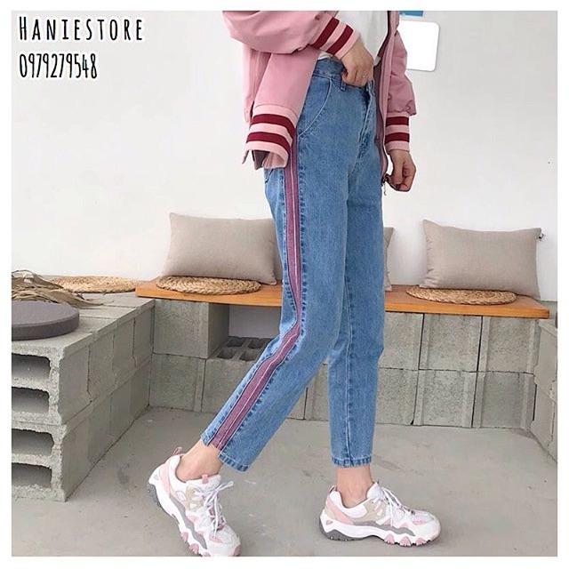 [ORDER] Quần jean sọc