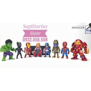 Mô hình siêu anh hùng Avengers _ Bộ 8 con