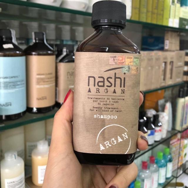 Dầu gội phục hồi tóc hư tổn Nashi Argan Shampoo 200ml   Shopee Việt Nam