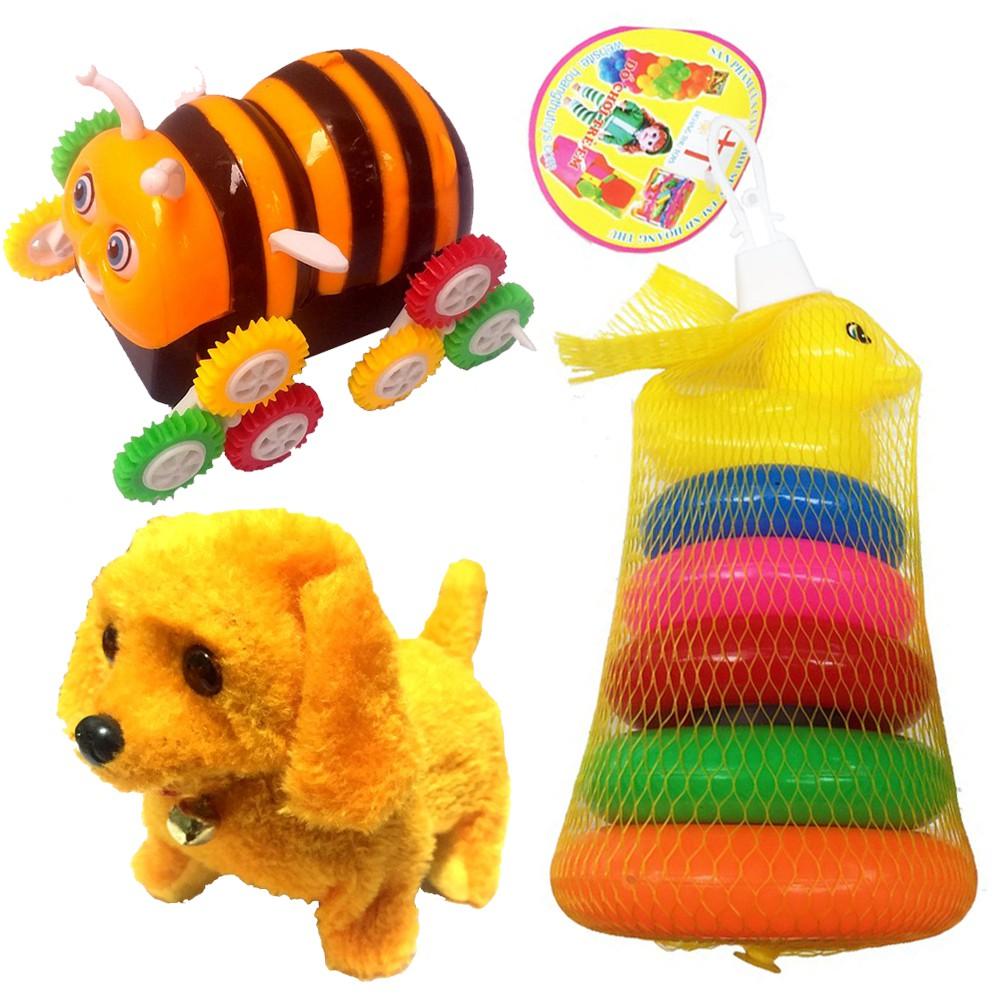 Bộ 3 món Đồ chơi cho bé