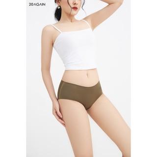 Quần lót nữ cotton Basic 20Again không đường may, kháng khuẩn, thoáng mát PVA0085 thumbnail