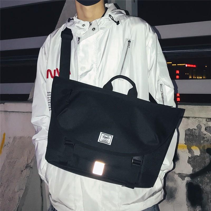 กระเป๋าแบรนด์ Tide ผู้ชายTide แบรนด์ผู้ชาย messenger ถุงสะท้อนแสงและกีฬาผู้หญิงและกระเป๋าสะพายไหล่สบาย ๆ มัลติฟังก์ชั่กา