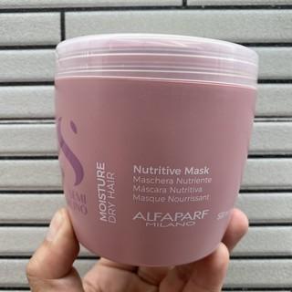 Mặt nạ Moisture dành cho tóc khô xơ Semi Dilino Nutritive Mask Alfaparf 500ml ( New 2018 ) thumbnail