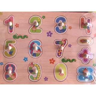 Bảng núm gỗ cao cấp dành cho bé, giúp bé sớm làm quen với các con số và phát triển tư duy….Đồ chơi trẻ em 24h