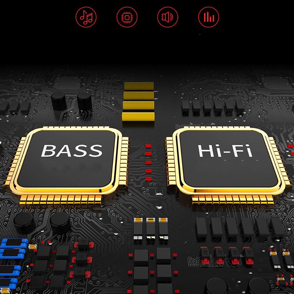Loa bluetooth nghe nhạc Niqin S5 âm thanh bass tích hợp pin 2000mAh có đèn led sáng theo nhạc