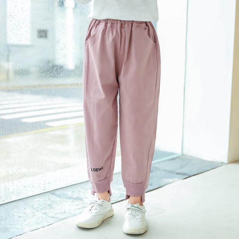 quần dài cho bé gái