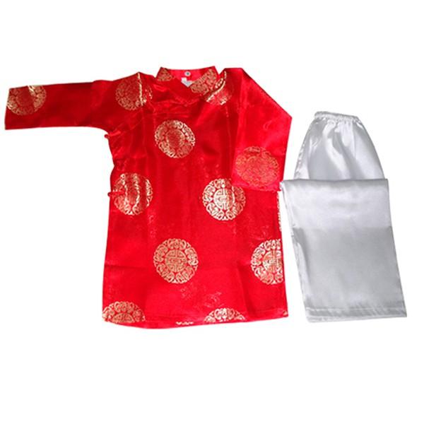 Áo dài size 12 AD12-Đỏ
