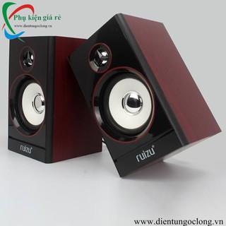 Loa Vi Tính 2.0 Multimedia Ruizu RS-810,820 Chính Hãng