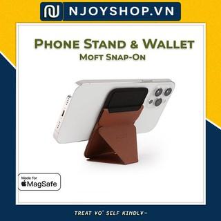 Giá Đỡ Điện Thoại Moft Snap On Kiêm Ví Thẻ Tiện Lợi Kết Hợp Apple MagSafe Sữ Dụng Từ Tính Dùng Cho iPhone 12 Series