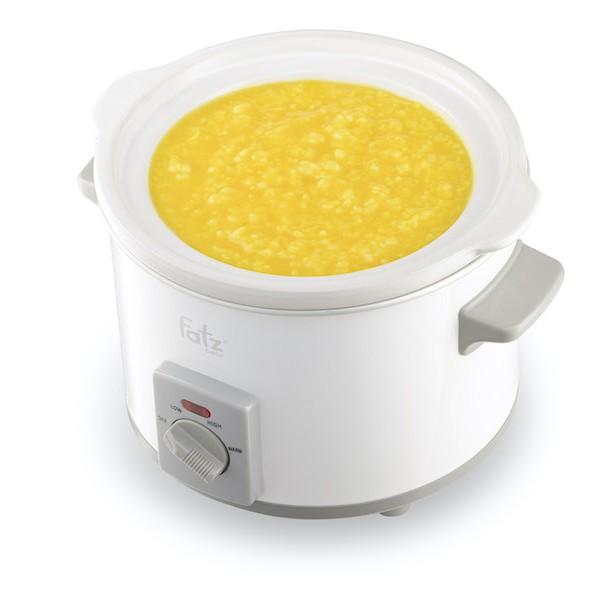 Nồi nấu chậm fatz baby 1.5L/2.5L ( Màu trắng)