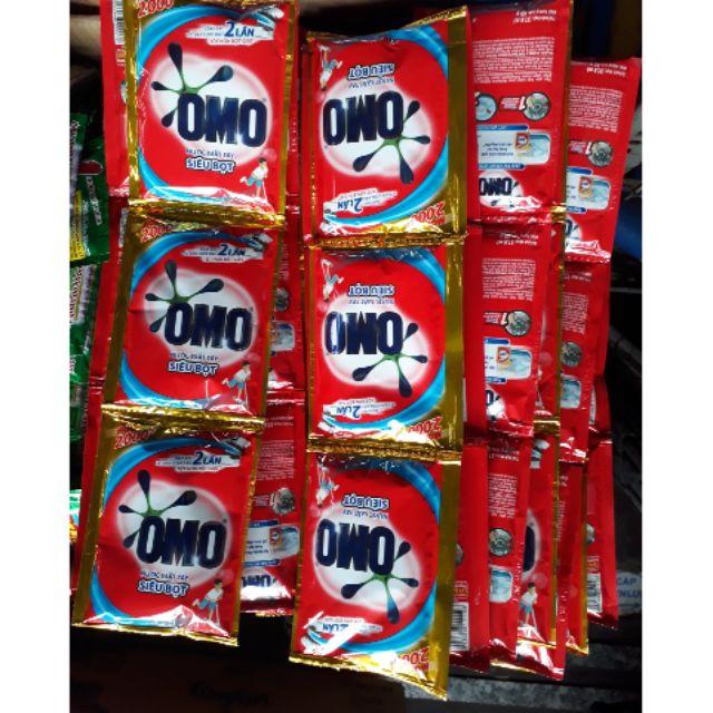 Combo 10 Dây Nước giặt OMO siêu bọt - siêu sạch