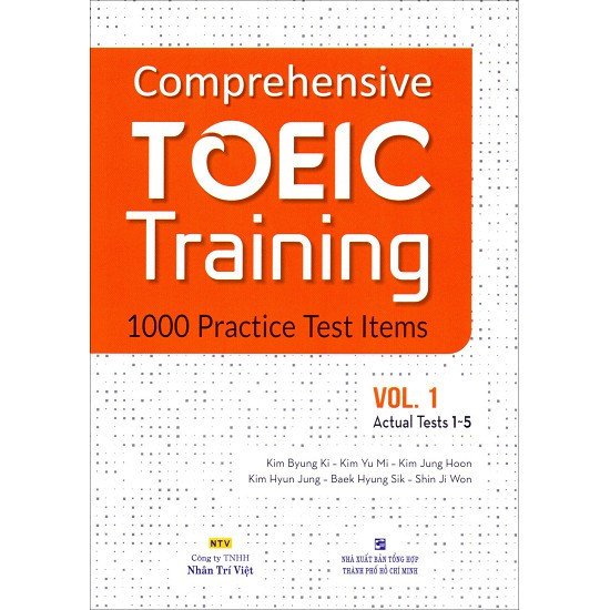 Sách - Comprehensive Toeic Training 1000 Practice Test Items (Vol 1) - Kèm CD