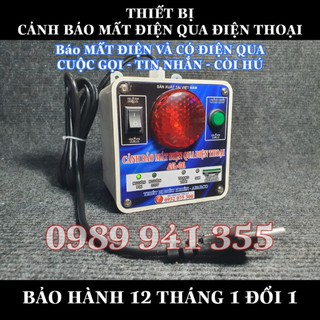 AL01 – Cảnh báo mất điện và có điện qua CUỘC GỌI – TIN NHẮN – CÒI HÚ