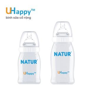 Bình Natur Uhappy cổ rộng 120ml 240ml