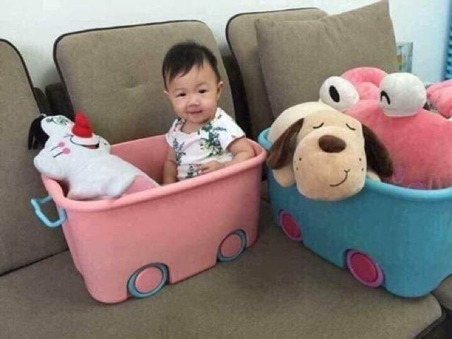 Thùng đựng đồ chơi cho bé loại to (xịn hàn quốc)
