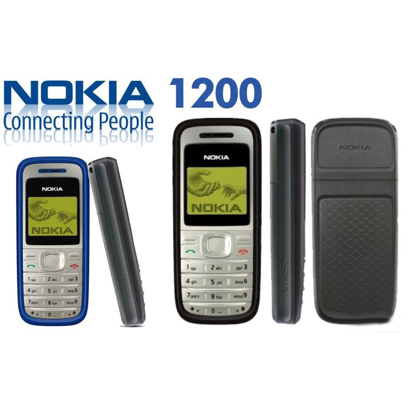 Trọn bộ Điện Thoại Nokia 1200 zin chính hãng, Bảo Hành 6 tháng Siêu Tốc 1 đổi 1 trong vòng 1 phút 30 giây