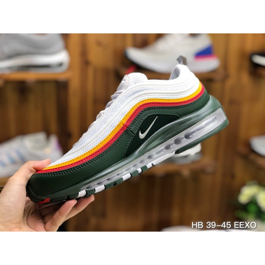 Nike Air Max 97 รองเท้าลำลอง รองเท้ากีฬา รองเท้าวิ่ง รองเท้าสตรี
