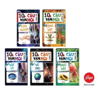 Sách - Combo 5 cuốn: 10 Vạn Câu Hỏi Vì Sao (Động Vật, Con Người, Vũ Trụ, Thực vật, Vật lý)
