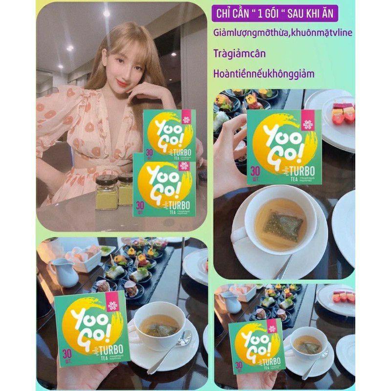 TRÀ THẢO MỘC THANH LỌC & ĐÀO THẢI MỠ THỪA YOO GO TURBO TEA - SIBERI 30 Gói  giá cạnh tranh