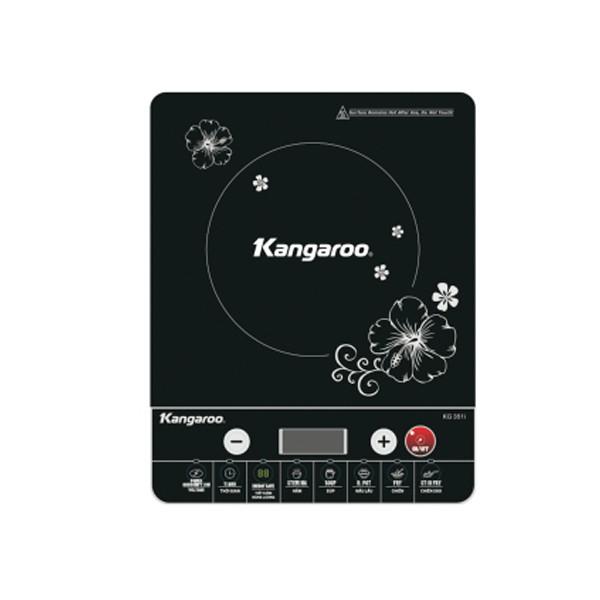 Bếp điện từ đơn cao cấp Kangaroo KG351i ( tặng kèm nồi inox )