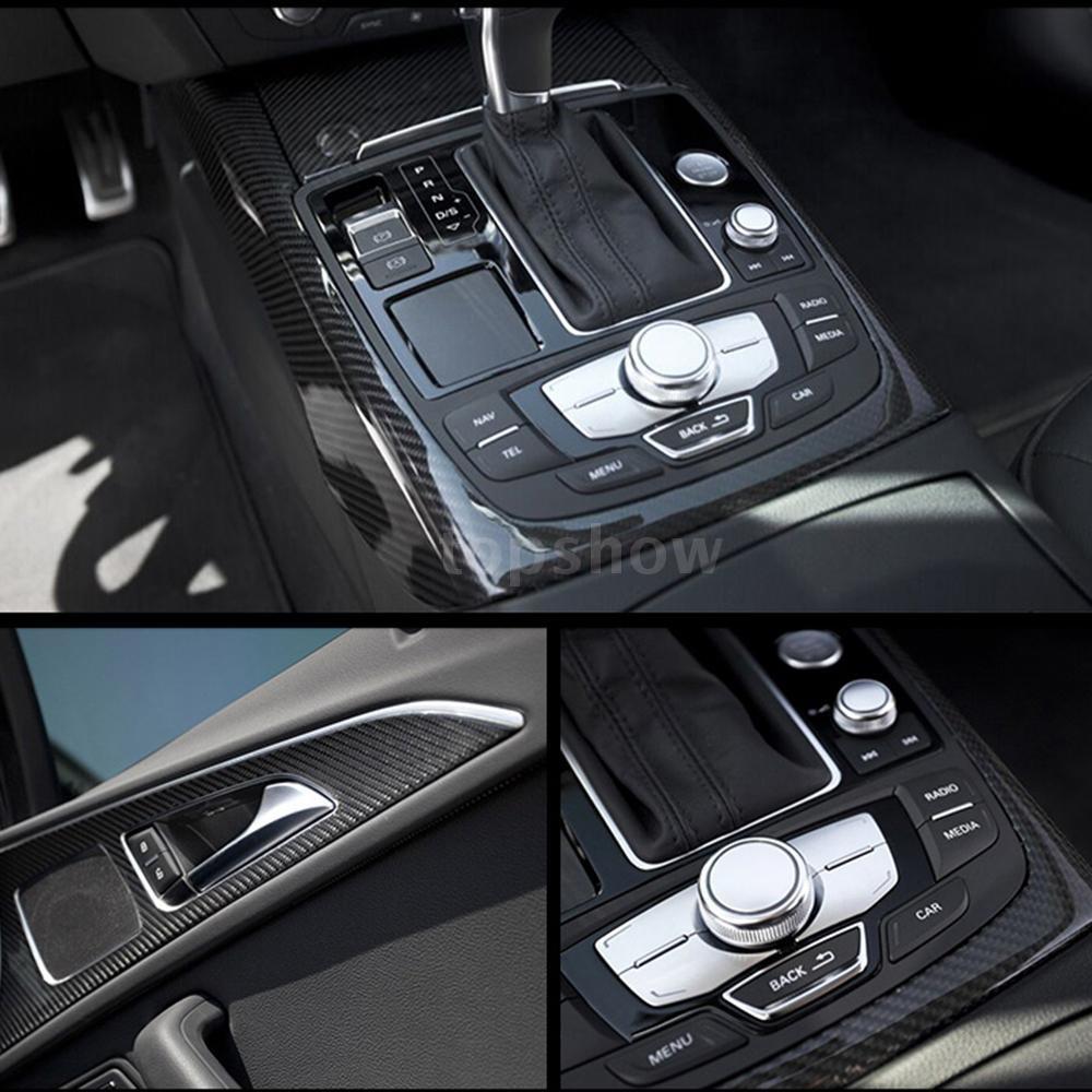 Tsm Black 5D Vinyl Film Carbon Fiber Car Wrap Film Carbon Fiber Car Sticker Accessory Auto Film