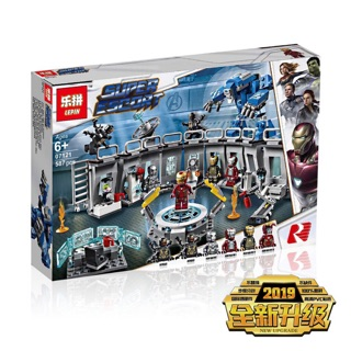 Lego super heroes avengers marvel 4 end game lepin 07121/ sy 1332 phòng lap Iron man