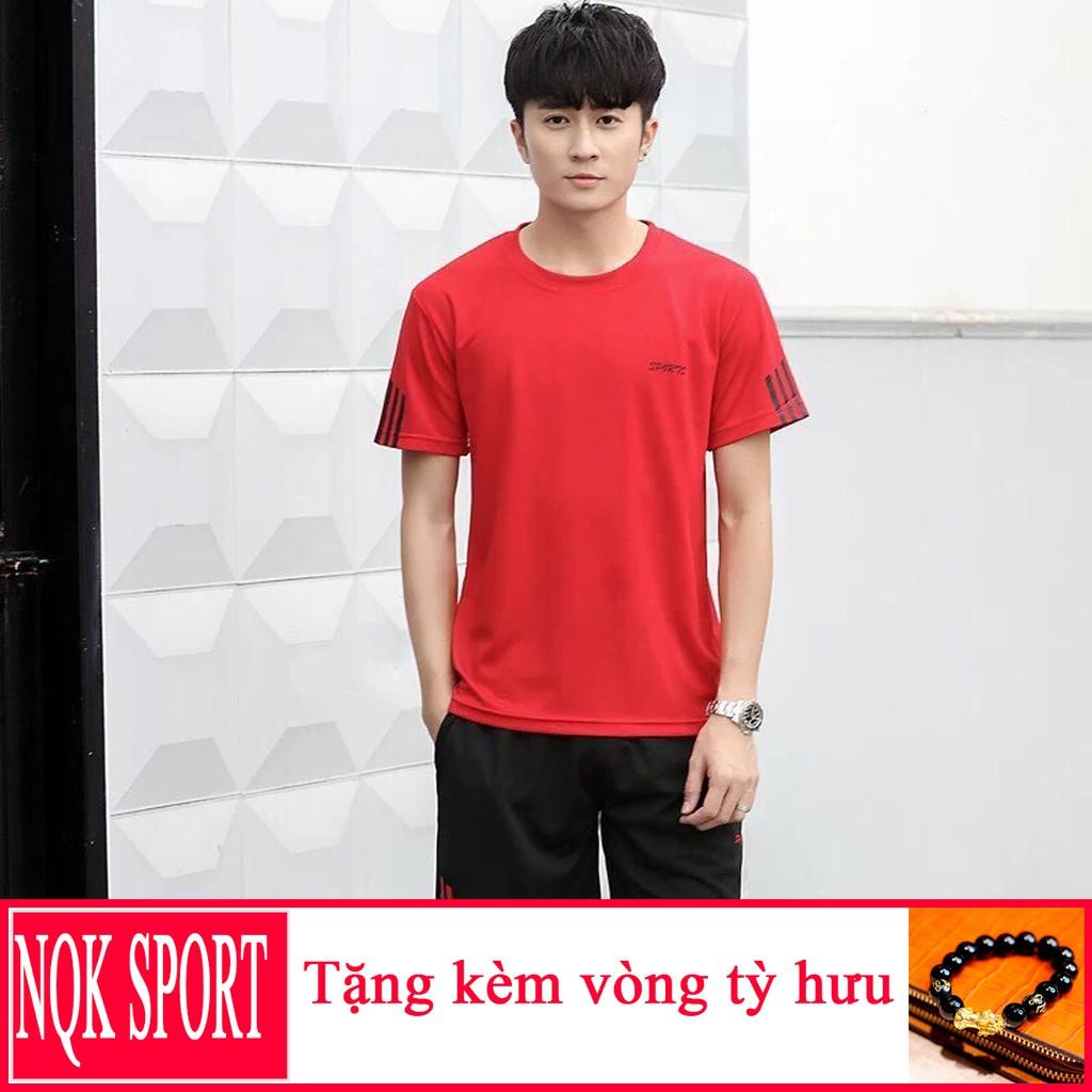 [Giá Hủy Diệt] Bộ Thun Thể Thao Nam Sport 3 Màu