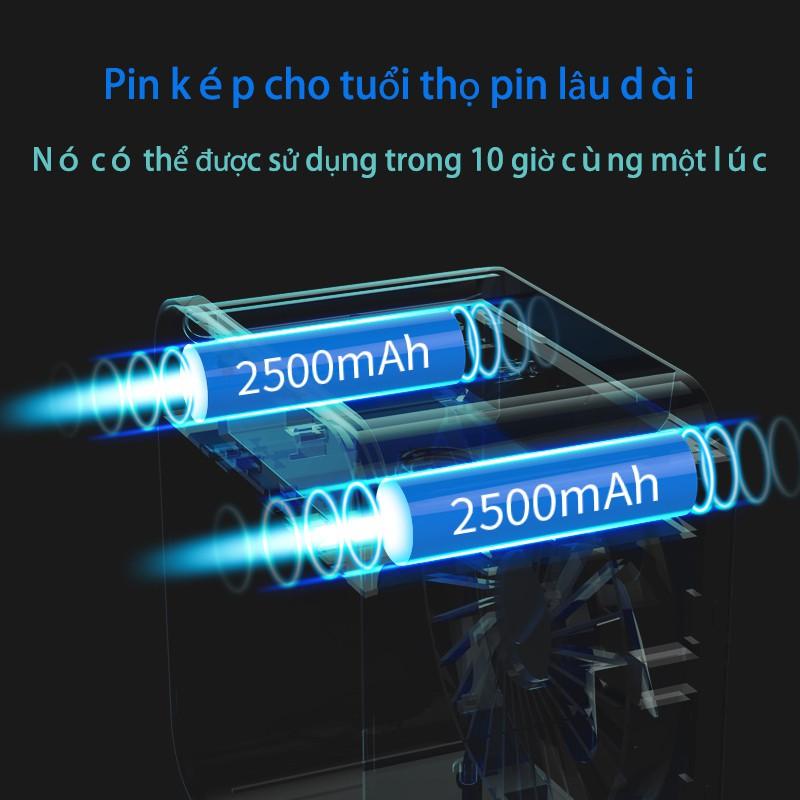 SL08 USB quạt nhỏ không ồn ào quạt điện điều hòa không khí di động điều hòa không khí nhỏ tản nhiệt máy tính để bàn sinh viên