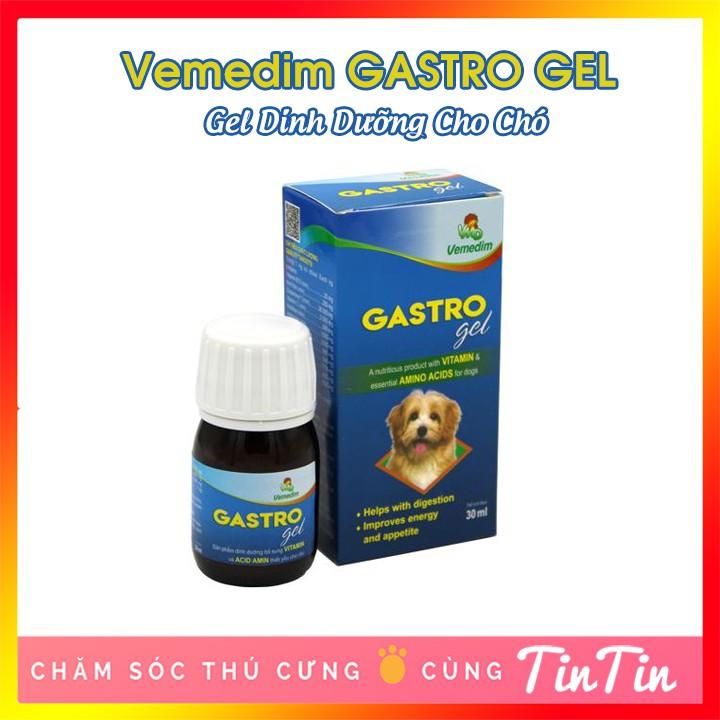 Gastro Gel - Gel dinh dưỡng bổ sung vitamin và acid amin cho chó cún 30ml