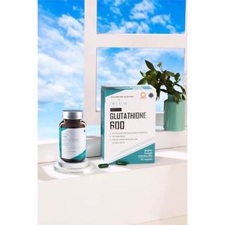Viên Uống Nám Trắng Da Glutathione 600 DrLacir,Hộp 30 viên ,hạn chế lão hoá da,nếp nhăn, tăng nội tiết tố nữ,hộp 30 viên thumbnail