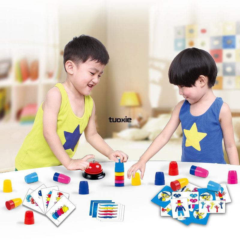 【available】children parent-child interactive logic thinking educational toy gam