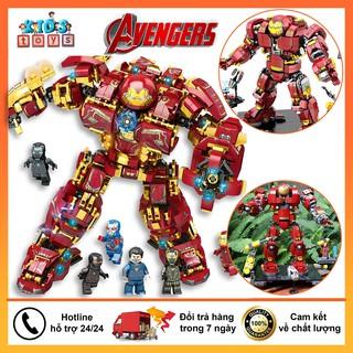Đồ chơi lego, lego Hulkbuster người sắt iron man, đồ chơi lego avenger chất liệu nhựa ABS an toàn thumbnail