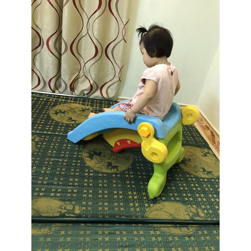 [Hàng Thật- Giá Sock] CẦU TRƯỢT BẬP BÊNH 2 IN 1 cho bé