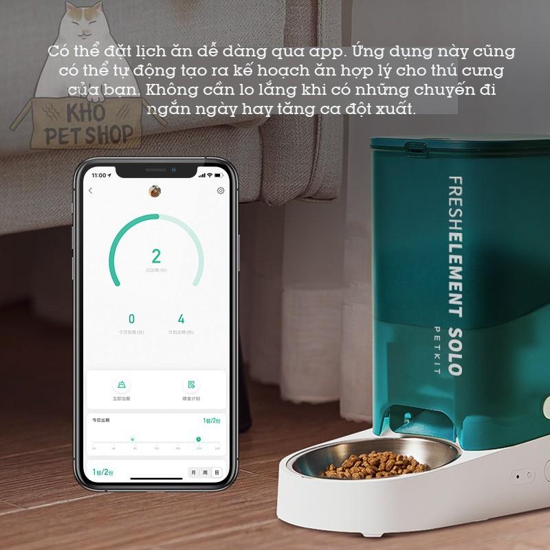 Máy thức ăn tự động Petkit Fresh Element Solo