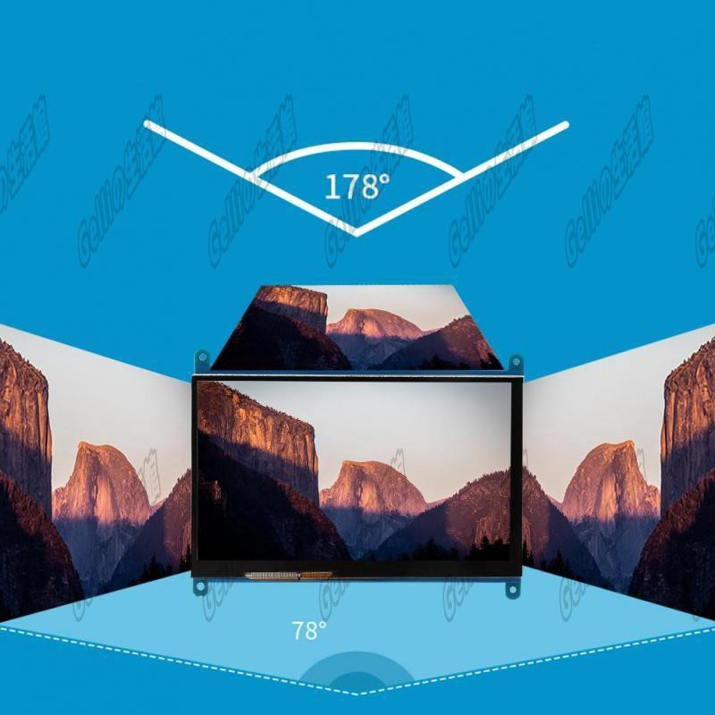 Siêu rẻ ✇Ngõ hình LCD 7 inch HDMI 1024x600 full HD cảm ứng điện năng cho Raspberry Pi