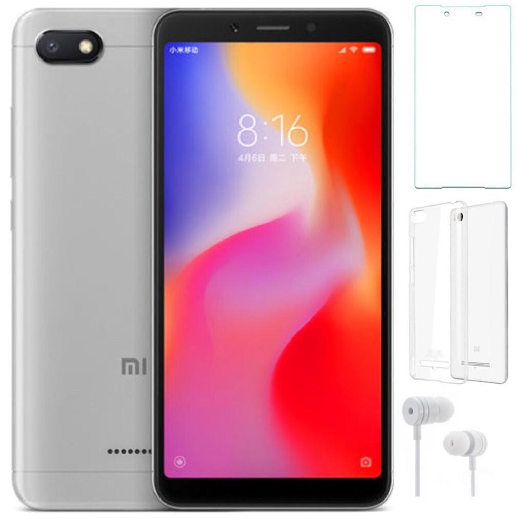 ComBo Điện thoại Xiaomi Redmi 6A 16GB Ram 2GB + Ốp lưng + Cường lực + Tai nghe - Hàng nhập khẩu - 2918567 , 1254921502 , 322_1254921502 , 2220000 , ComBo-Dien-thoai-Xiaomi-Redmi-6A-16GB-Ram-2GB-Op-lung-Cuong-luc-Tai-nghe-Hang-nhap-khau-322_1254921502 , shopee.vn , ComBo Điện thoại Xiaomi Redmi 6A 16GB Ram 2GB + Ốp lưng + Cường lực + Tai nghe - Hà