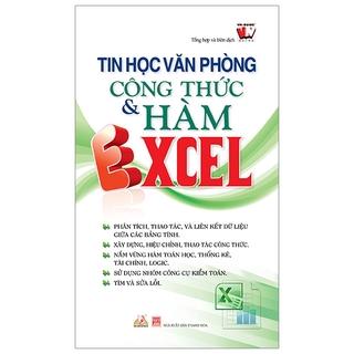 Sách Tin Học Văn Phòng - Công Thức & Hàm Excel