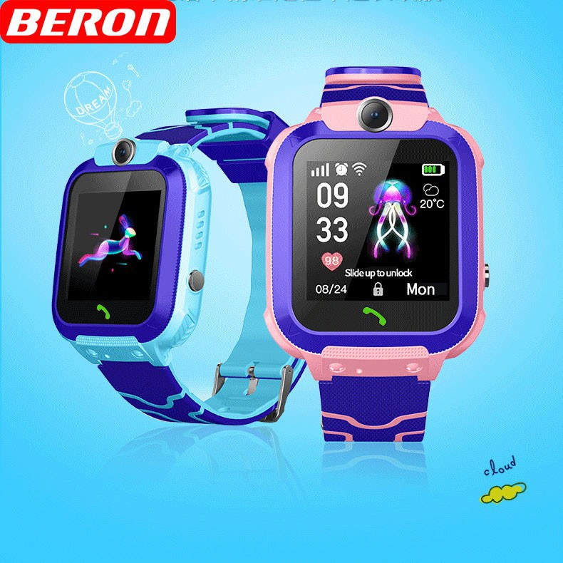 IP67 waterproof Kid Smart GPS Watch SIM Card Call SOS Anti Lost with Camera  Location